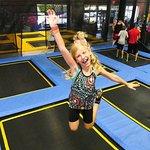 Come bounce around on huge trampoline park. - Peoria