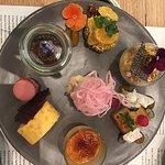 Dessert tasting plate