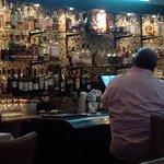 Inviting bar at Kinzies