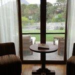 Vista de la terraza desde la habitación
