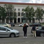 Schalenbrunnen - across the street