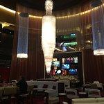 The lobby bar.