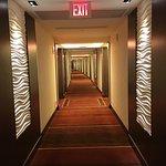 One of the long hallways.