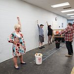 Axe Throwing is the perfect way to enjoy a date night, corporate event, birthday party, wedding