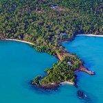 Seven Spirit Bay nestled in the wilderness