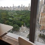 """""""Room with a view"""" of Columbus Circle"""