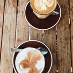 Chai Latte and a Latte