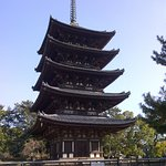 Five-storied Pagoda -- from here, we start our adventure!