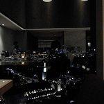pemandangan dari executive lounge