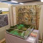 深溝城についての展示