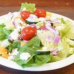 Hand-crafted salads.