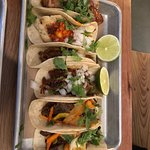 Good selection of taco.