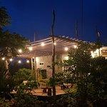 outdoor restaurant deck