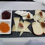 Tapas de queijos