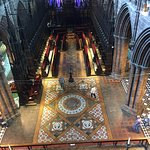 Looking over the cathedral quire