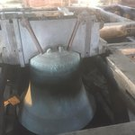 Last remaining Cathedral Bell in situ, the others are in a new tour