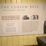 Information about the curfew bell.....as I said....be aware!