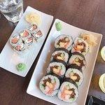 Futomaki et maki saumon st moret