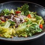 Микс-салат с куриной печенью 280