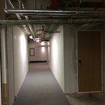 Couloir menant à nos secondes chambres