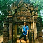 Visited at Banteay Srey (Pink Stone Temple)