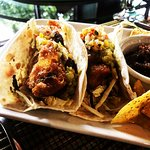 Best fish tacos in the bay always fresh never frozen try them today
