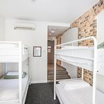 4 Share dormitory with en suite bathroom. Own locker and linen provided.