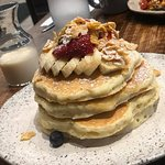 Milk & Cereal Pancakes