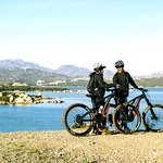 e-bike&view: just enjoy the landscape, colors and scents