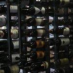 A deep wine cellar.