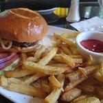 Good Hamburger and fries.