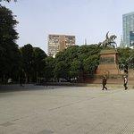 Plaza San Martìn en Barrio de Retiro: Monumento al Gral. San Martìn- Bs.As. 2018.