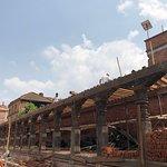Bhaktapur Durbar square area - ancient market area