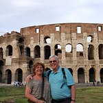 On our walking tour - Rome's Colosseum