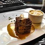 """Филе миньон с перечным соусом и картофельным """"гратеном"""" / Filet Mignon with pepper sauce and pot"""