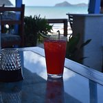Rum punch with a view