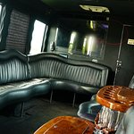 Party Bus 24 Passenger interior