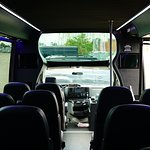 Corporate Bus 24 Passengers front wide view