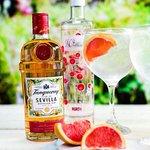 Refreshing gin and tonic.