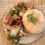 Burger Poulet Curry