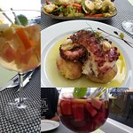 Octopus and Sangria