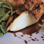 Peito de Frango com Polenta de chouriço | Chicken Breast with Chorizo Polenta
