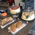 Various pastries and cakes