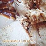 salted caramel ice-cream