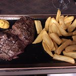 Excellent Steak and chips!