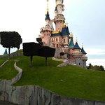 Фотография Диснейлендв Париже