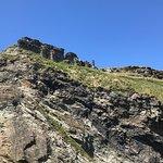 Sunny birthday trip to tintagel castle