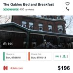 Thank you to all of our guests @gablesbb for taking the time to write us their reviews. We recei