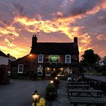 Sunset at The Green Man