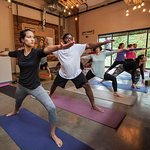 Yoga, Wednesday mornings 10am at Caboose, $10 all levels welcome